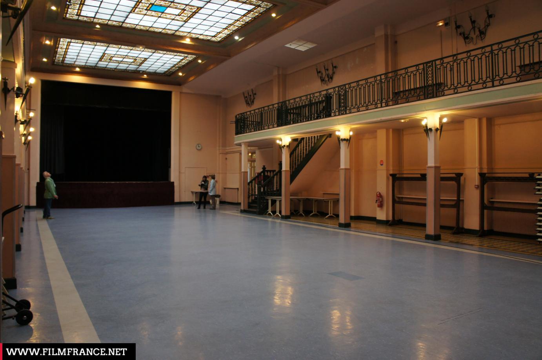 City Of Nogent Sur Marne Emile Zola Hall Main Hall Film France