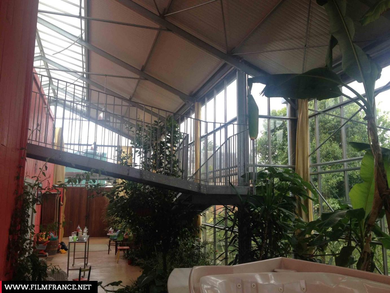 Admirable Maison serre bioclimatique en coeur de ville | Film France WN-66